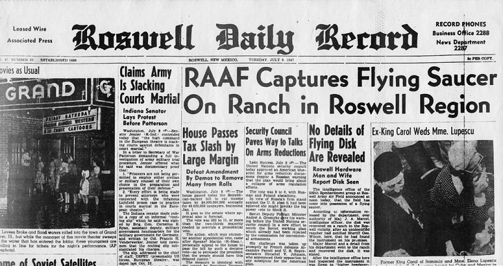 Заголовок газеты 1947 года
