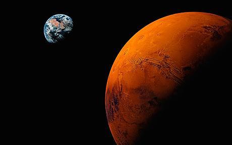 14 апреля 2014 года Марс приблизится к Земле