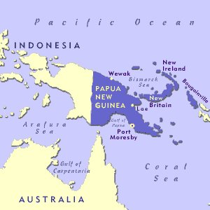 1959 год. Вспышки НЛО в Папуа, Новая Гвинея