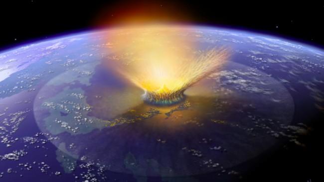 Австралия – место падения древнего астероида