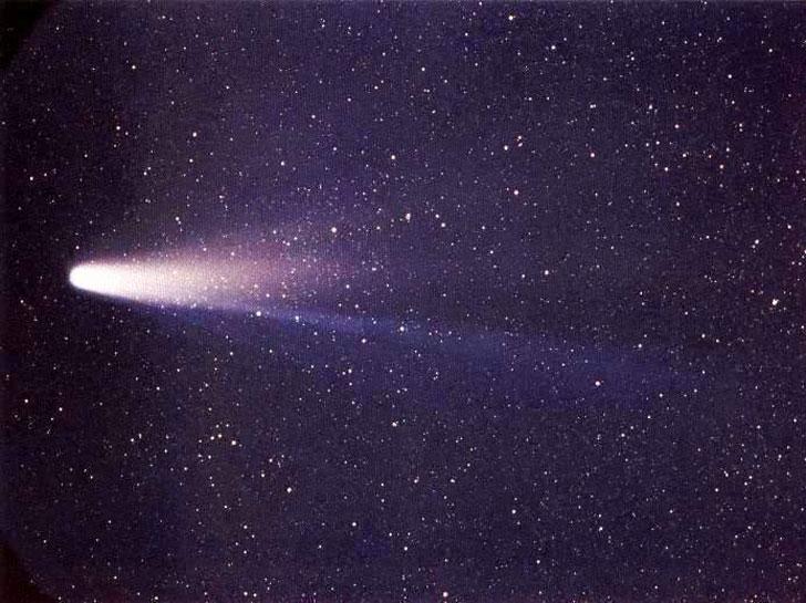 Комета Галлея фото