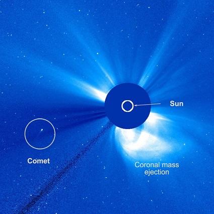 Комета SOHO-2875