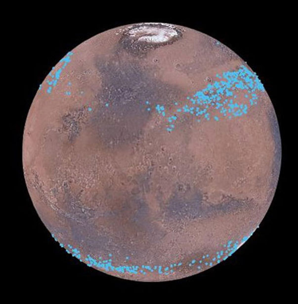 Ледники на Марсе