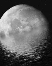 Лунный лед