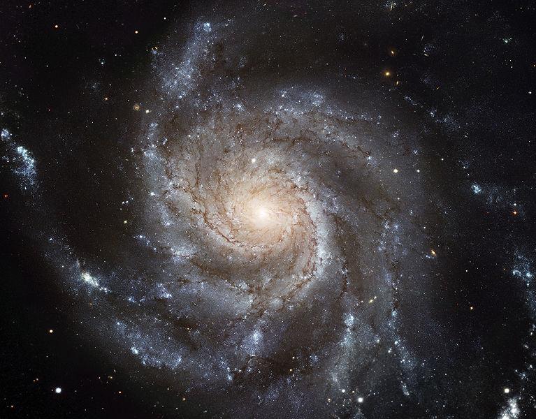 M101 - спиральная галактика