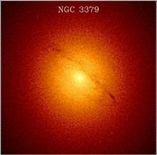 М105 - галактика в созвездии Лев