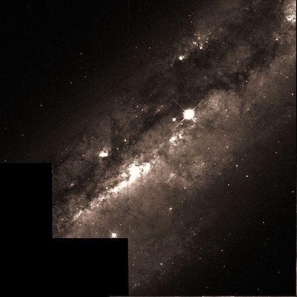 M108 - спиральная галактика
