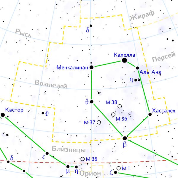 M37 - Рассеянное скопление