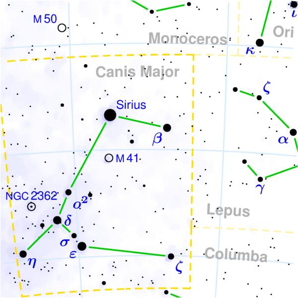 Рассеянное скопление M41