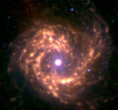 M61 - галактика в созвездии Дева