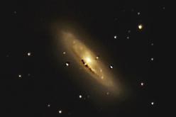 М65 - Спиральная галактика