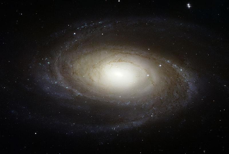 M81 - спиральная галактика