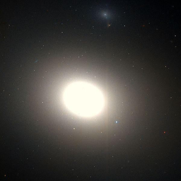 M86 - галактика в созвездии Дева