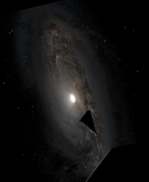 M90 - спиральная галактика в созвездии Девы