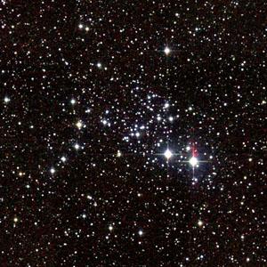M93 - Рассеянное скопление