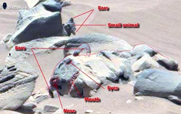 Марсоходом Curiosity была обнаружена статуя кошки