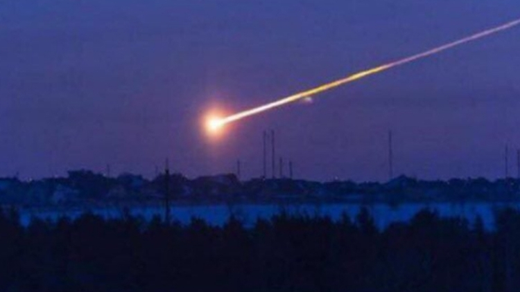 Над Архангельском пролетел метеорит