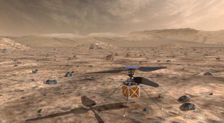 NASA планирует отправить в 2020 году на Марс вертолет