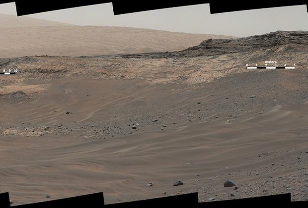 Панорамный снимок Марса