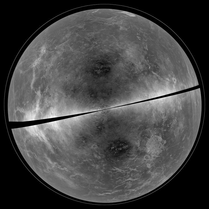 Подробное изображение Венеры