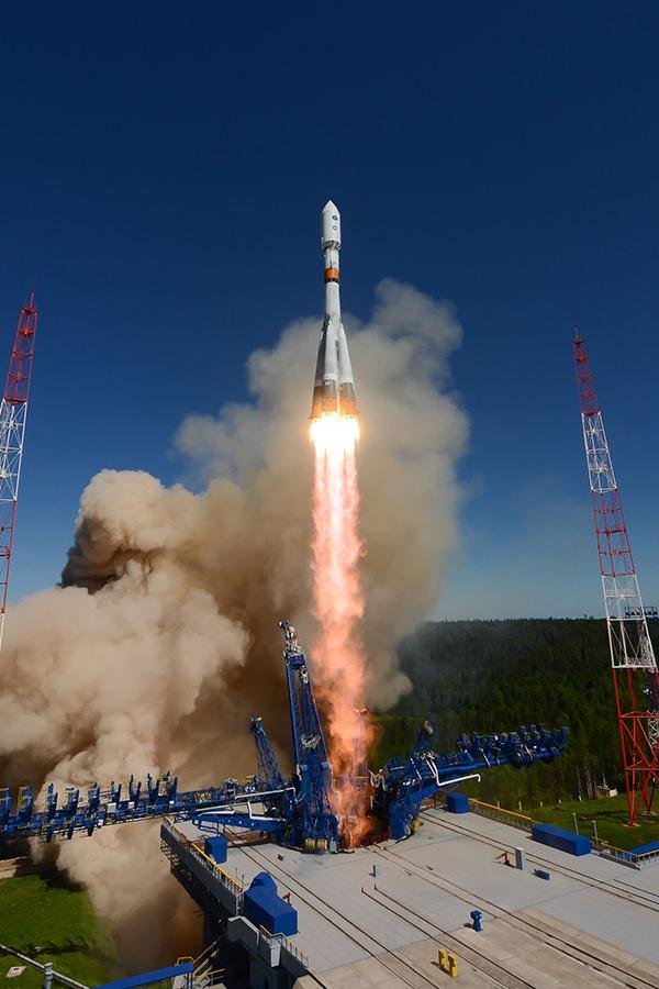 Ракетоноситель «Союз-2.1в» успешно запущен с навигационным спутником «ГЛОНАСС»