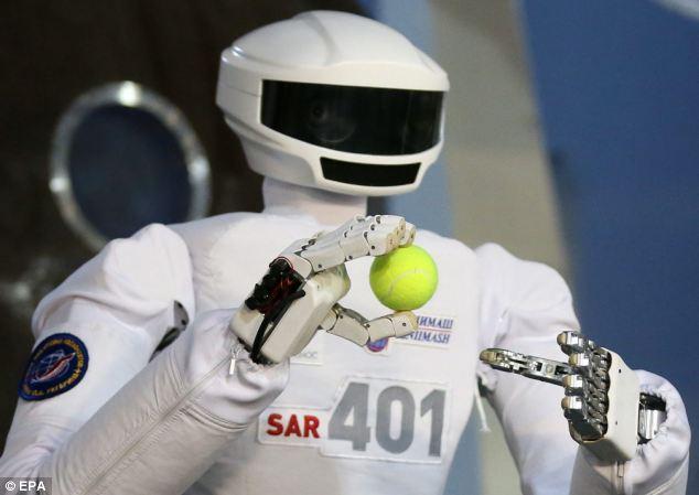 Россия отправит робота-человека на МКС