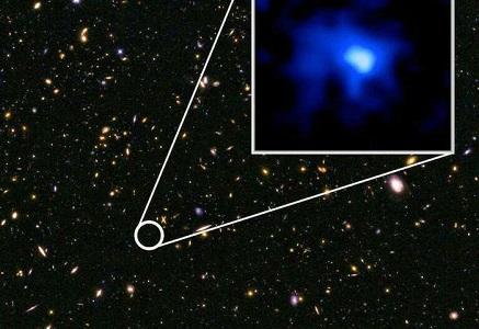 Самая далекая от Земли галактика