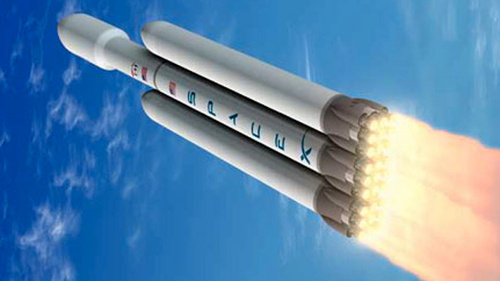 SpaceX поделилась планами относительно Falcon Heavy
