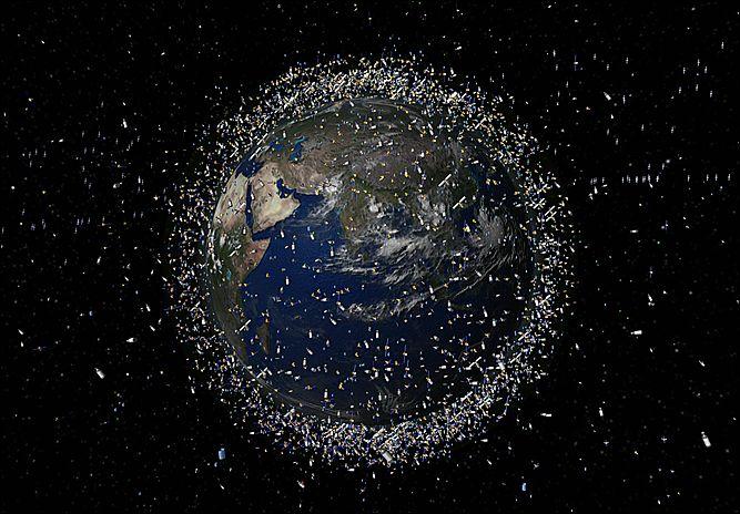 Генеральная уборка в космосе