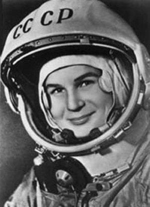 первая женщина космонавт изображение