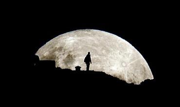 Суперлуние жители Земли смогут наблюдать ночью 12 июля