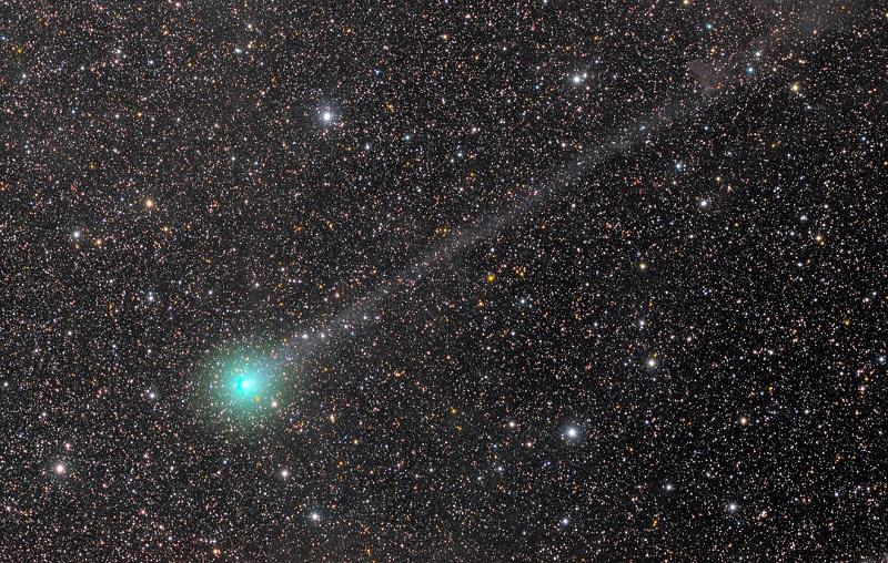 Ученые нашли спирт на комете Lovejoy