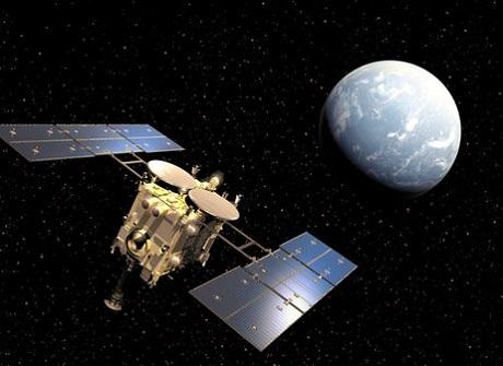 Японский охотник за астероидами Hayabusa-2 провел гравитационный маневр около Земли