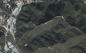 Китайская стена из космоса. Фото