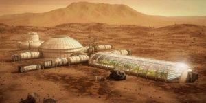 Планы американцев по колонизации Марса