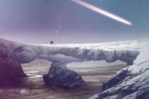 В метеоритах обнаружены компоненты органической жизни
