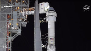 Испытательный полет «Старлайнера» компании Боинг на МКС прошел неудачно