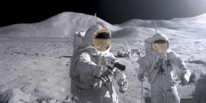 На Луну отправят космонавтов с весом до 70 кг