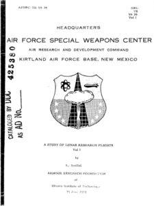 Проект A119, или «Изучение исследовательских лунных полётов»