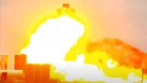 Прототип корабля SpaceX взорвался (ВИДЕО)