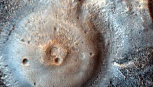 На Марсе могут существовать грязевые вулканы