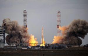 Ракета «Протон-М» со второй попытки стартовала с Байконура 31 июля 2020 года