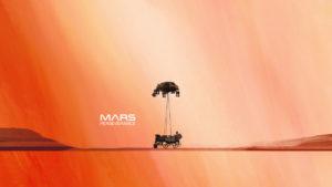 Посадка марсохода Perseverance 18 февраля 2021 года онлайн