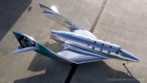 Virgin Galactic создала зеркальный космический корабль