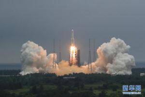 Основной модуль для собственной космической станции в космосе: Китай конкурирует с МКС