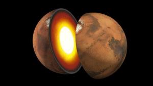 Ученые проанализировали новые данные о ядре и коре Марса