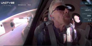 Unity 22: космический полет Ричарда Брэнсона был успешен