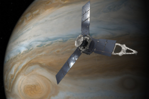 Вокруг Юпитера: анимация НАСА перенесет любого в космос